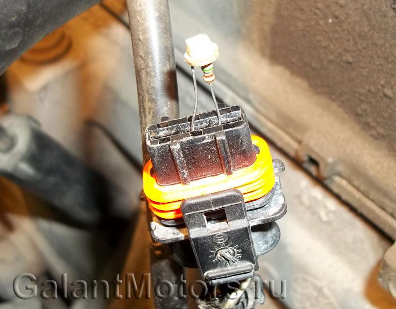 Разъём модуля зажигания ВАЗ