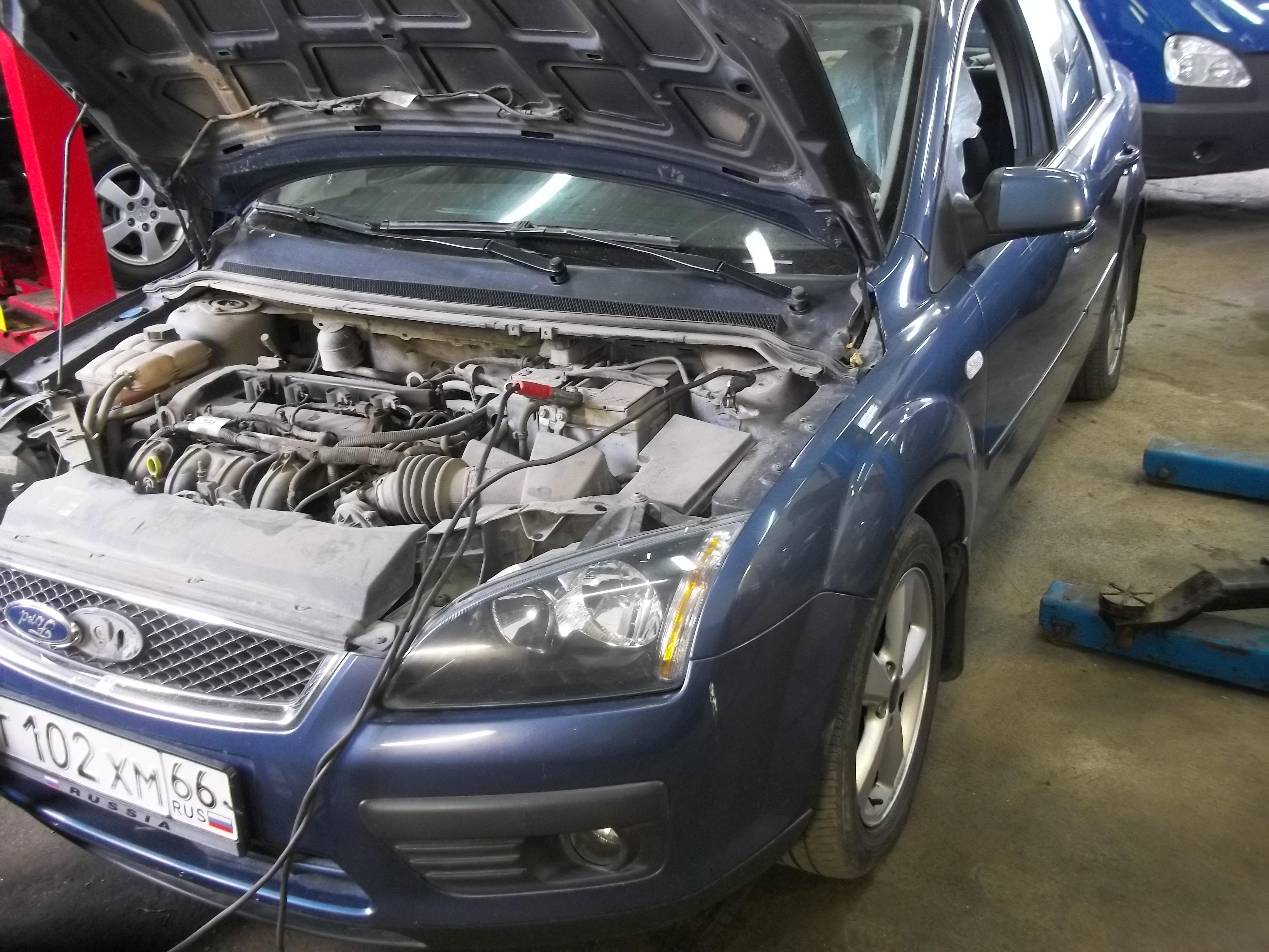 схема форд фокус2 двигатель 1 4