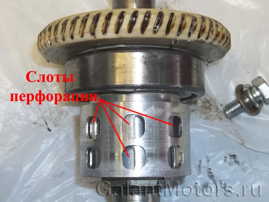концентрические цилиндры индуктивного датчика крутящего момента
