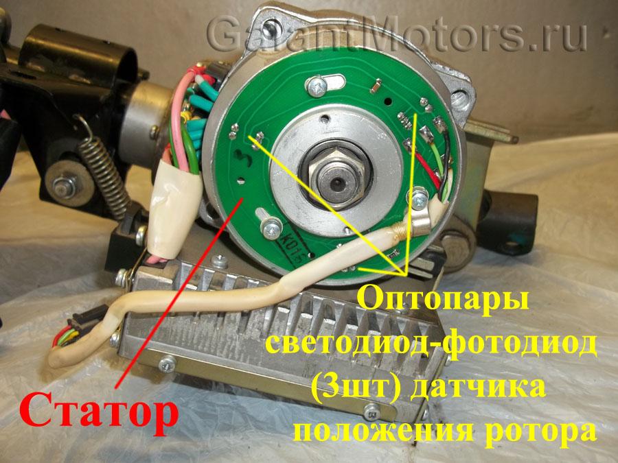 датчик положения ротора