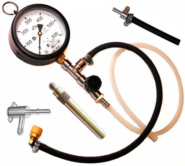 Как сделать компрессометр из манометра проверки давления шин