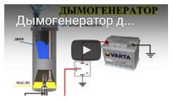 автомобильный дымогенератор