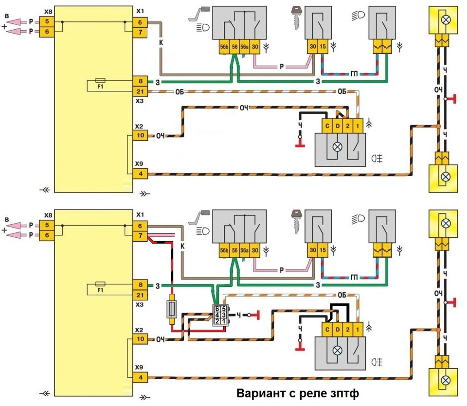 Реле вентилятора ваз 21099 карбюратор